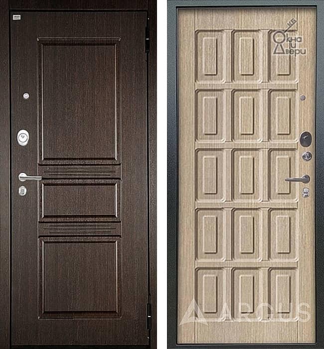 Дверь АРГУС ЛЮКС АС Сабина Венге / Шоколад Капучино