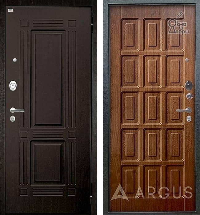 Дверь АРГУС ЛЮКС АС Триумф Венге / Шоколад Дуб золотой