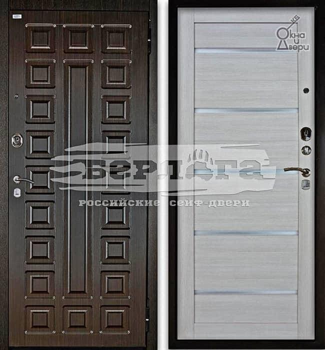 Дверь БЕРЛОГА 2П СЕНАТОР Венге / АЛЕКСАНДРА Буксус