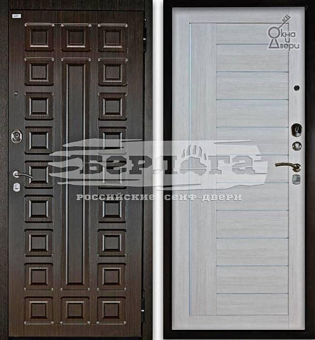 Дверь БЕРЛОГА 2П СЕНАТОР Венге / ДИАНА Буксус
