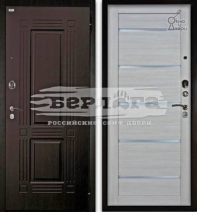 Дверь БЕРЛОГА 2П ТРИУМФ Венге / АЛЕКСАНДРА Буксус