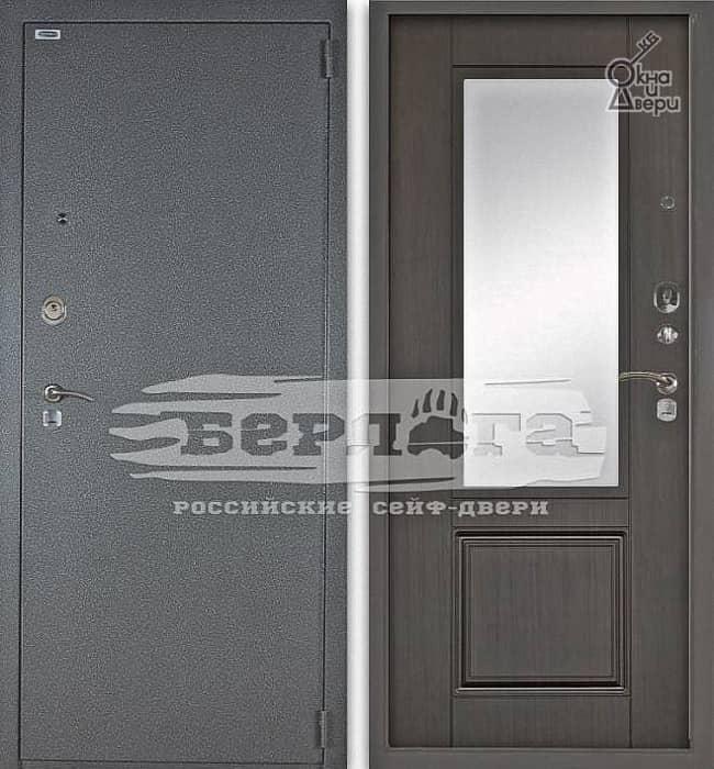 Дверь БЕРЛОГА 3К ГАЛА Венге