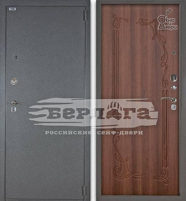 Дверь БЕРЛОГА 3К Левзея Дуб рустикальный