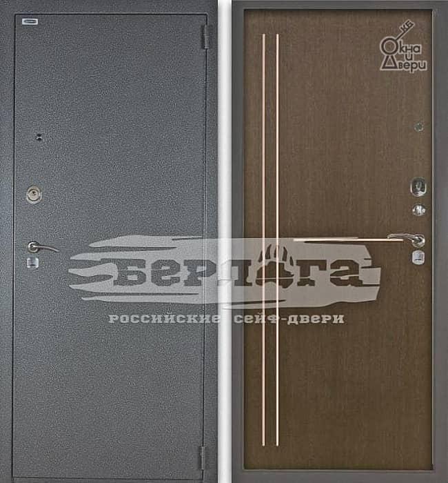 Дверь БЕРЛОГА 3К МИРТА Венге