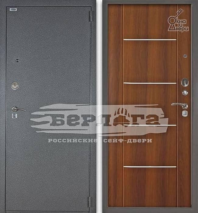 Дверь БЕРЛОГА 3К РУСТ Дуб рустикальный
