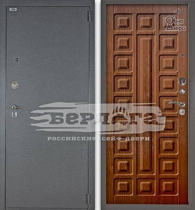 Дверь БЕРЛОГА 3К СЕНАТОР Дуб рустикальный