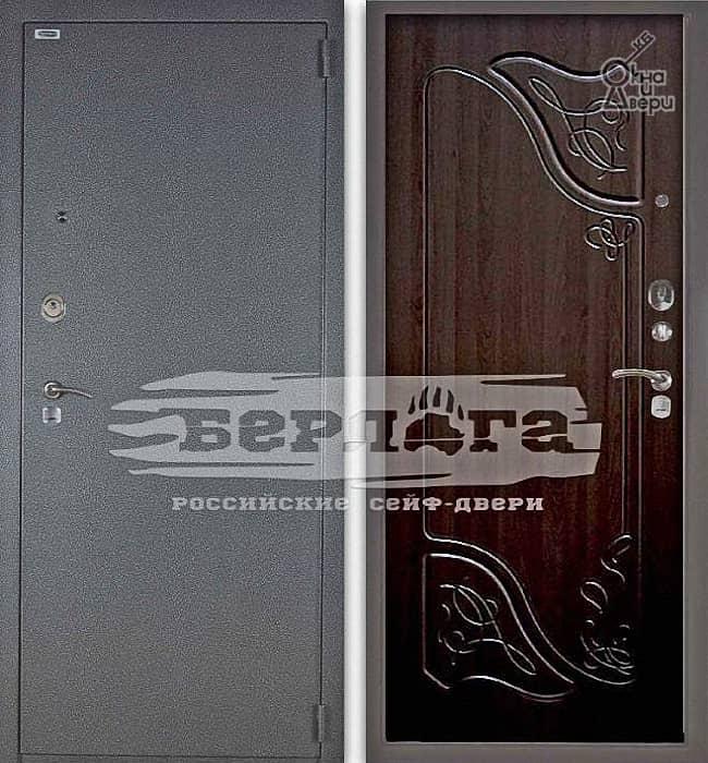 Дверь БЕРЛОГА 3К ВЕСТА Венге