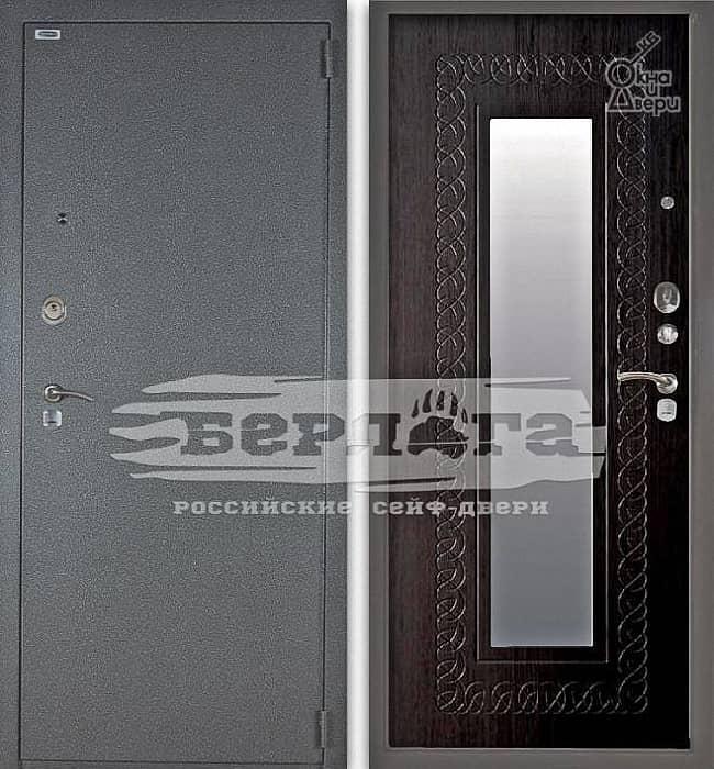 Дверь БЕРЛОГА 3К ВИКИНГ Венге