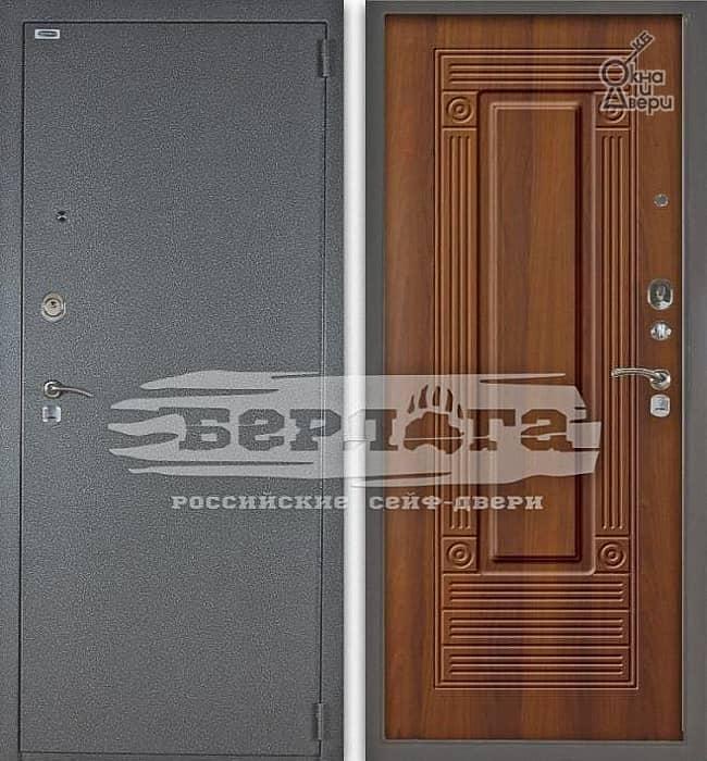 Дверь БЕРЛОГА 3К ЯНИНА Дуб рустикальный