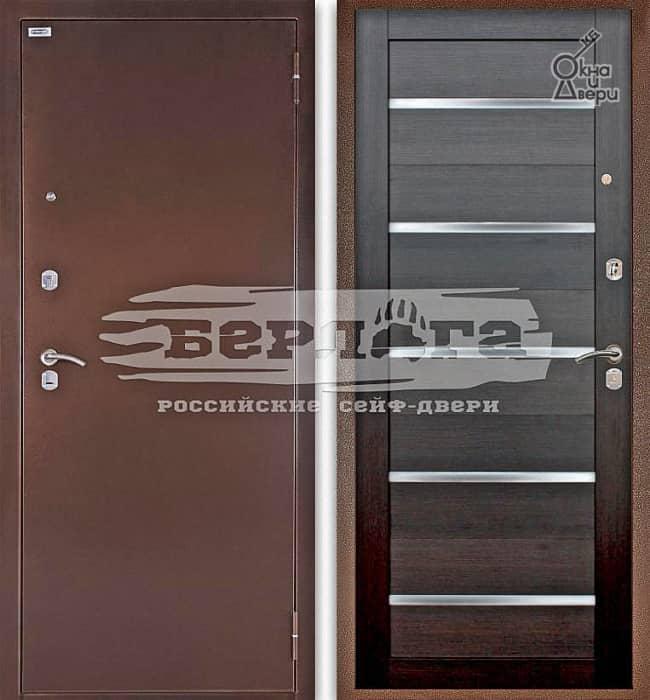 Дверь БЕРЛОГА ОПТИМА АЛЕКСАНДРА Вельвет