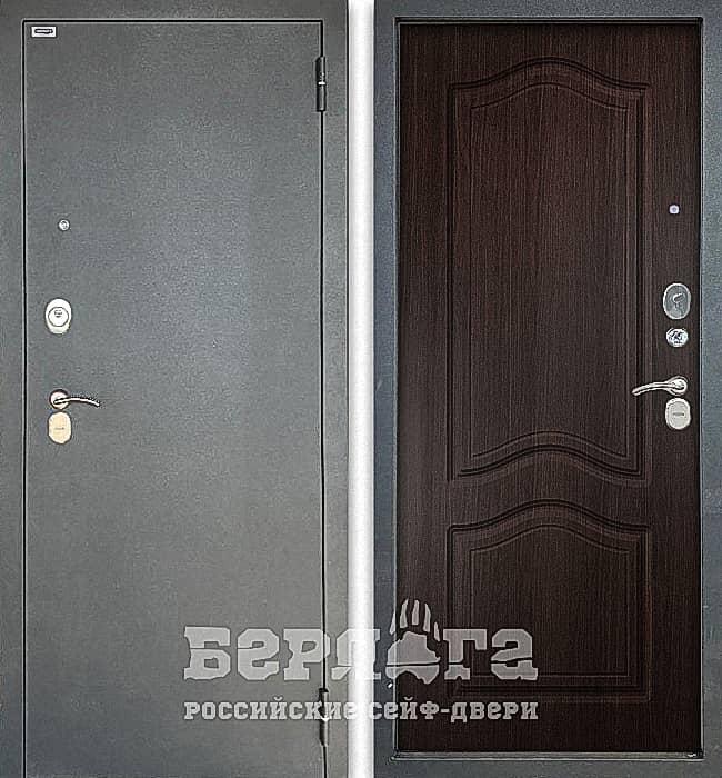 Дверь БЕРЛОГА ТРИНИТИ 3К ЭТЮД Венге
