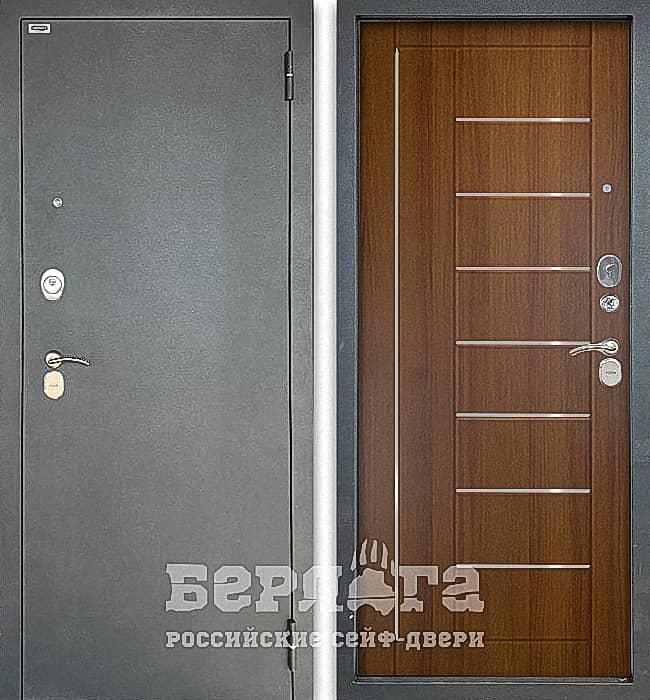 Дверь БЕРЛОГА ТРИНИТИ 3К ФРИЗА Дуб золотой