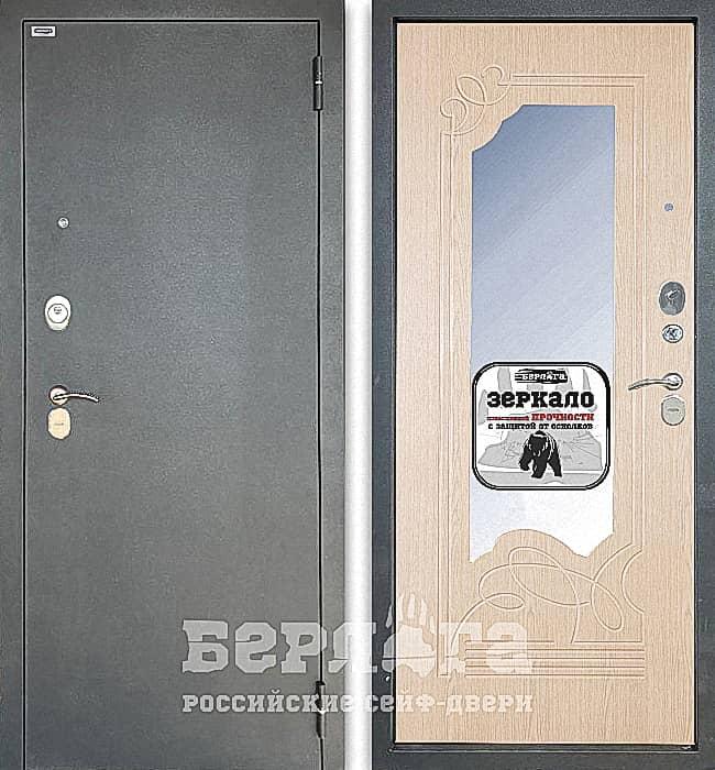 Дверь БЕРЛОГА ТРИНИТИ 3К ОЛЬГА Дуб беленый
