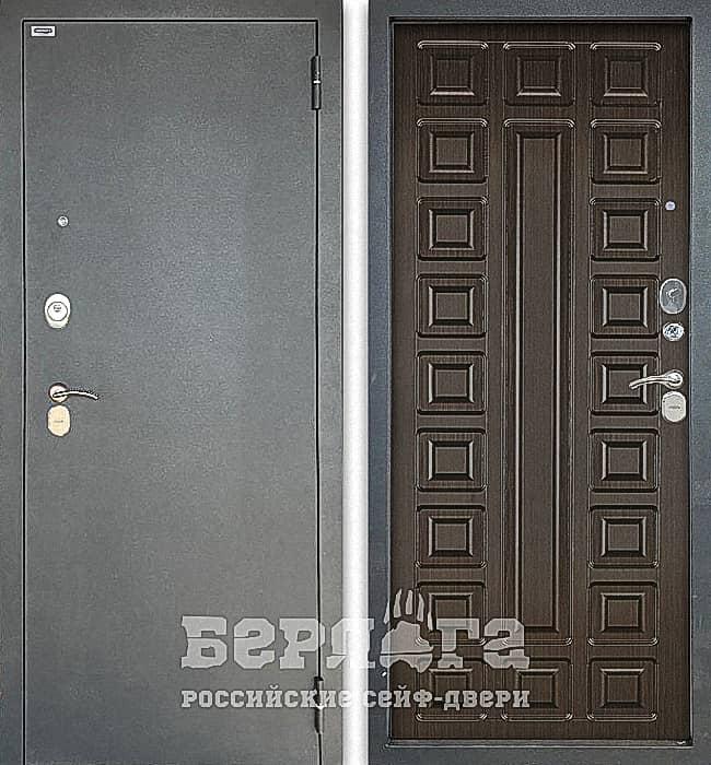 Дверь БЕРЛОГА ТРИНИТИ 3К СЕНАТОР Венге