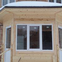 Остекление дома окнами ПВХ 4