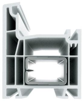 Профиль ПВХ дверной Grain-Lider 58