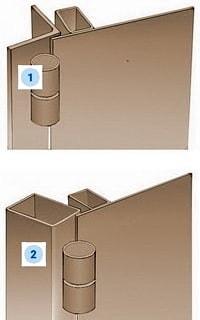 Рама стальной двери Вариант 1-2