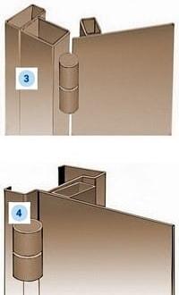 Рама стальной двери Вариант 3-4
