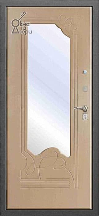 Дверь СТАТУС ЛАЙТ Г-4 Зеркало вариант 2