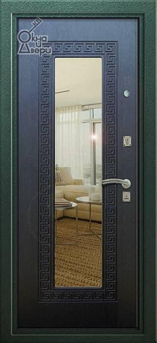 Дверь СТАТУС ЛАЙТ Г-4 Зеркало вариант 3