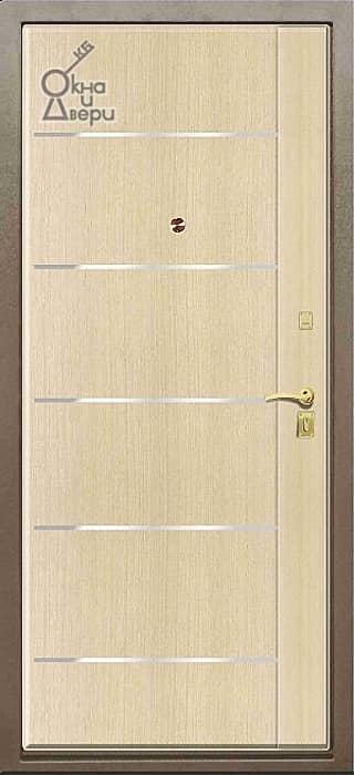 Дверь СТАТУС П2К3 Молдинг вариант 2