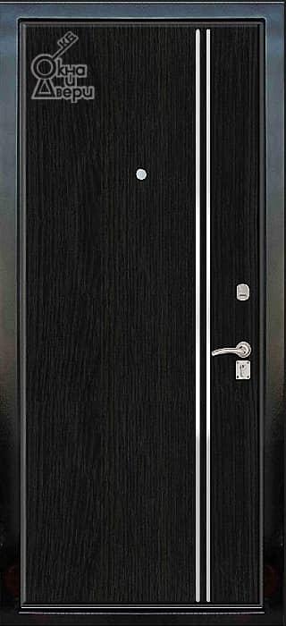 Дверь СТАТУС П2К3 Молдинг вариант 3