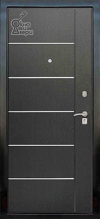 Дверь СТАТУС П2К3 Молдинг вариант 5