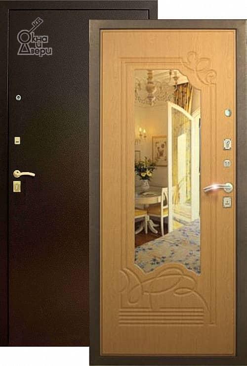 Дверь СТАТУС П2К3 Зеркало