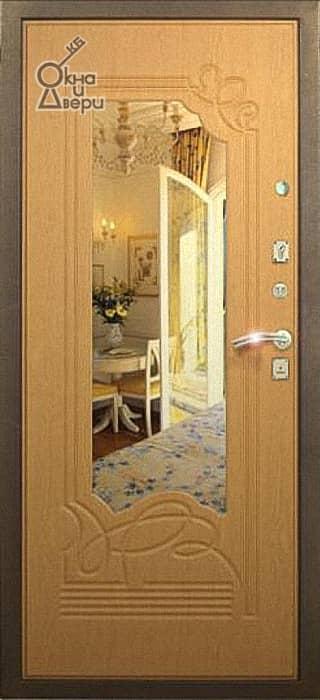 Дверь СТАТУС П9К9 Зеркало вариант 2