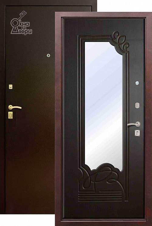Дверь СТАТУС П9К9 Зеркало